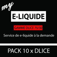 My e-liquide DLICE 70-30