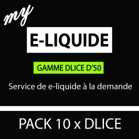 e-liquide DLICE D50