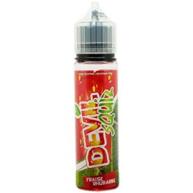 Fraise Rhubarbe 50ml - Devil Squiz