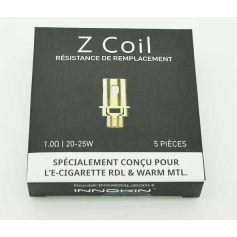 Résistance Z coil Zenith Pro - Pack de 5