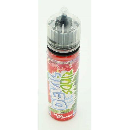 Fraise Rhubarbe 50ml - Devil Ice Squiz avap