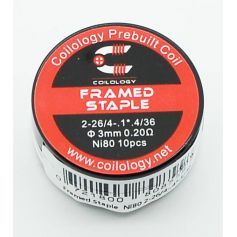 Framed Staple Coilology Pack de 10
