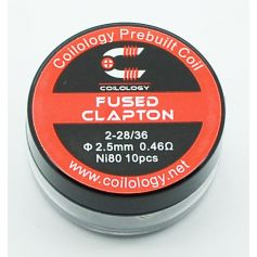 Fused Clapton Coilology Pack de 10