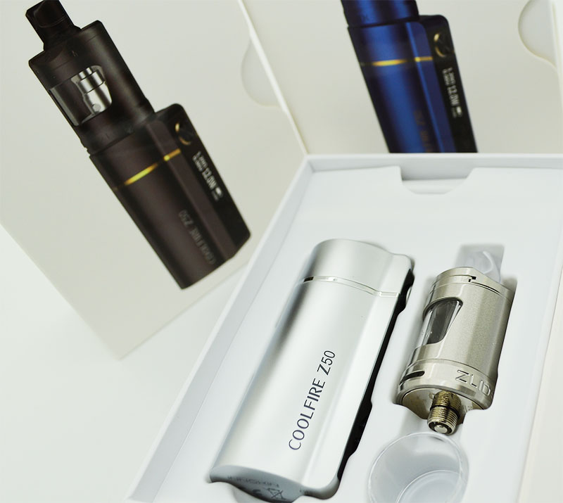 contenu du kit cool fire z50 innokin