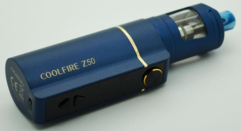 kit coolfire z50 innokin bleu