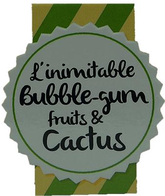 eliquide dulce bubble gum cactus